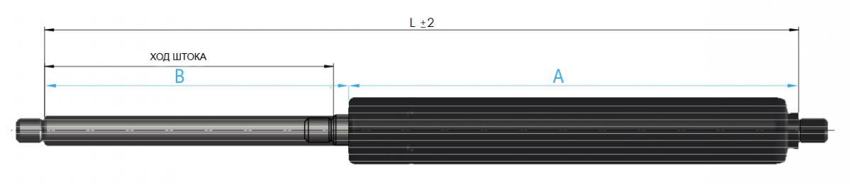 газ лифт suspa подсоединение резьба 16-4
