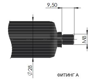 газовый амортизатор suspa