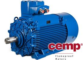 Взрывозащищенные двигатели Euromotori, Cemp