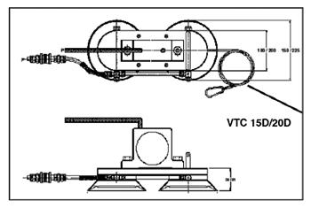 Вакуумные зажимы VTC-15D/VTC-20D