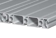 Панель алюминиевой конструкции со слотами